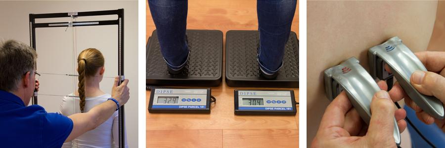 Diagnoseverfahren über Gewichtsverteilung, Spinaler und Insight Millennium beim Chiropraktiker in Köln